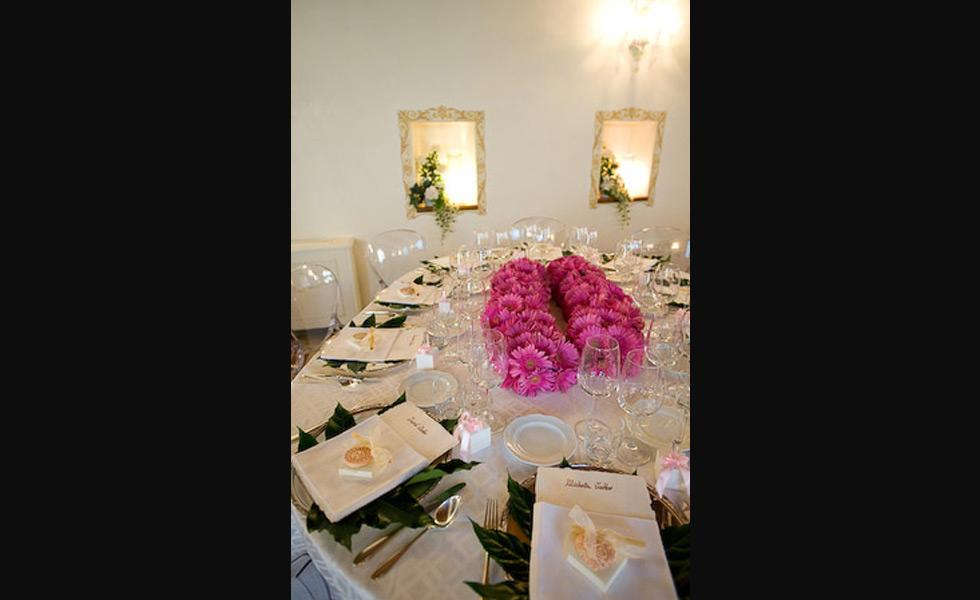 Luci Torremato Emozione Pura : Menu per matrimonio di nozze a tavola ai gelsi